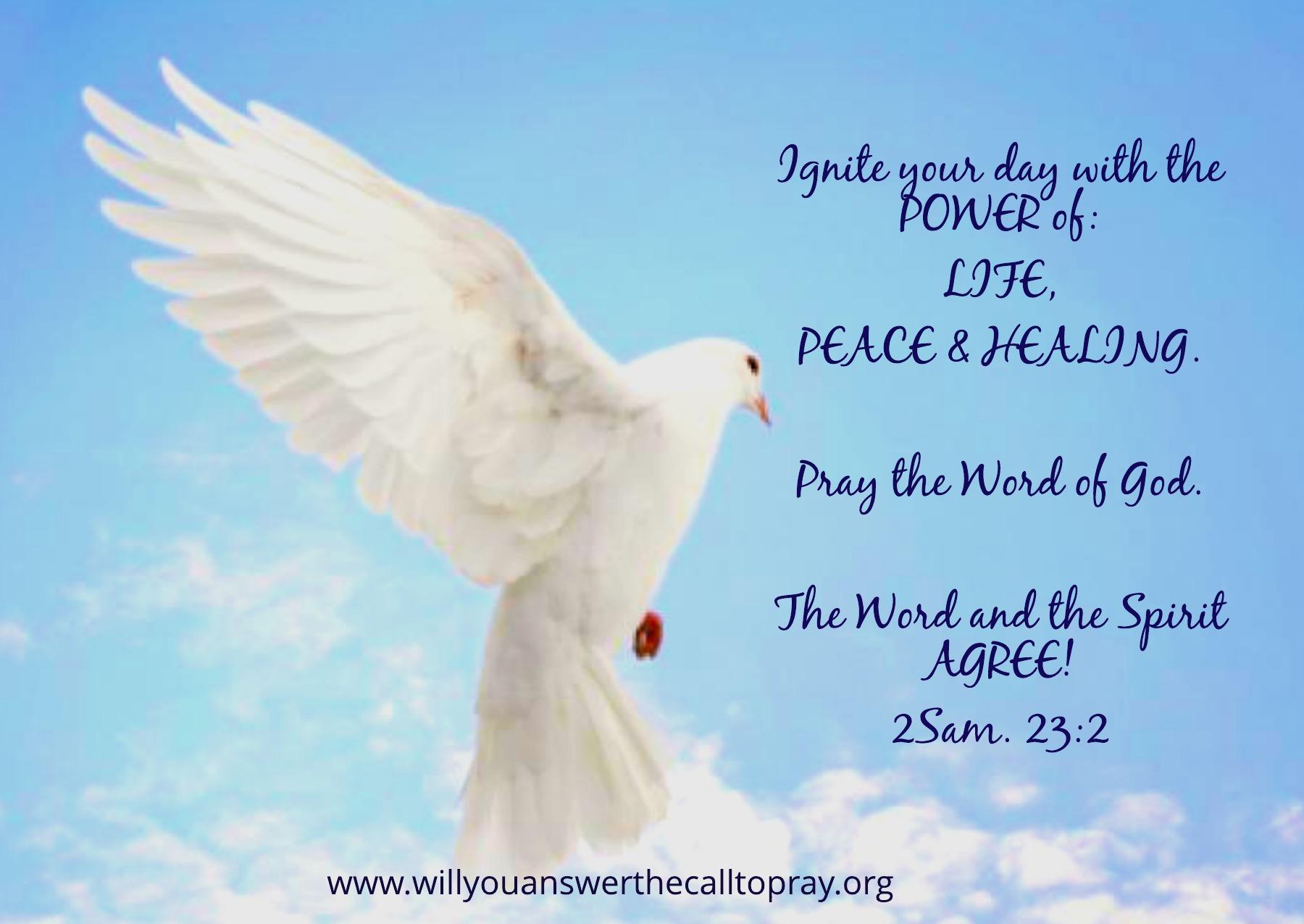 Prayer Prophecy 32718